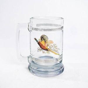 Turkey Beer Glass Mug Stein Pheasant Bird Quail